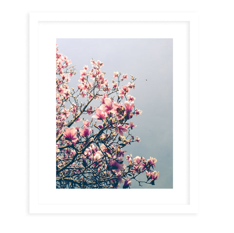 APRIL BLOSSOM Framed Print With Mat By Olivia St.Claire