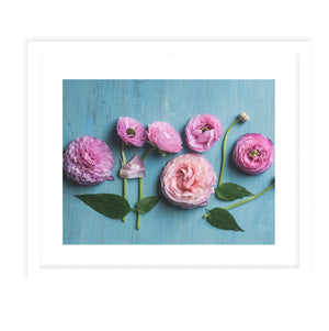 DAWES NATURE STILL LIFE FLOWERS Framed Print With Mat By Olivia St.Claire