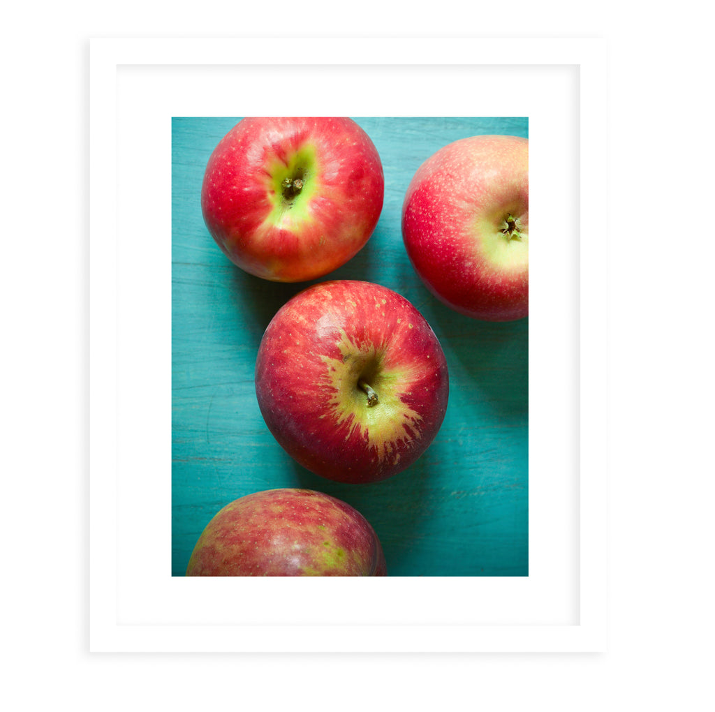 APPLES Framed Print With Mat By Olivia St.Claire