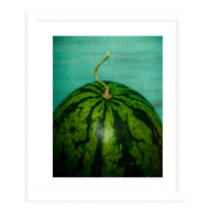 WATERMELON Framed Print With Mat By Olivia St.Claire