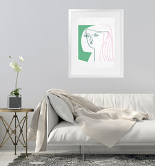 LA ARIELE Framed Giclee Print With Mat By Villa Capri