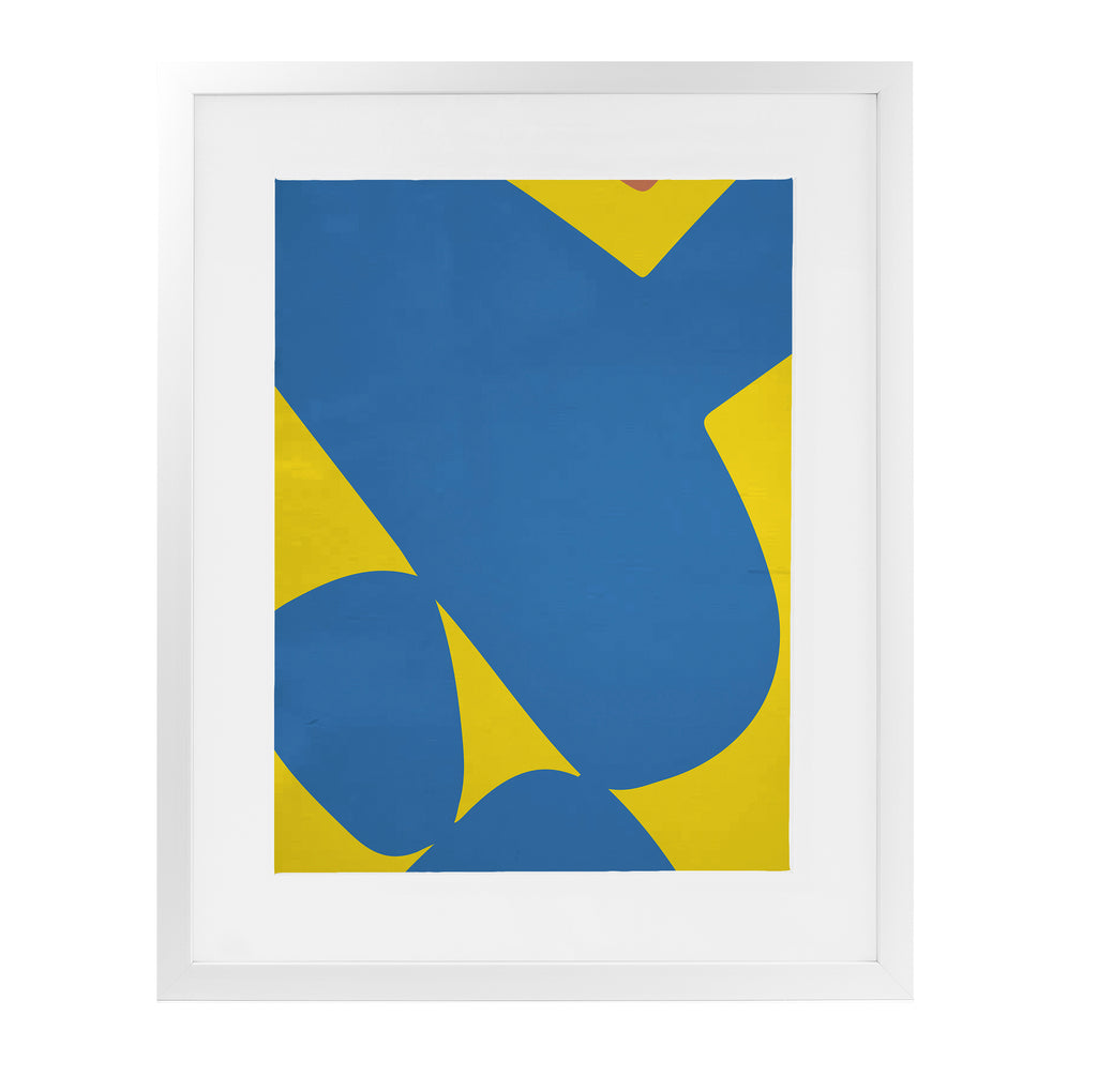 LANGENAULT YELLOW FEVER Framed Giclee Print With Mat By Villa Capri