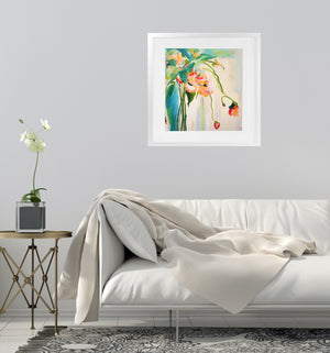 SKYSCRAPER LEGS Framed Giclee Print With Mat By Susan Skelley