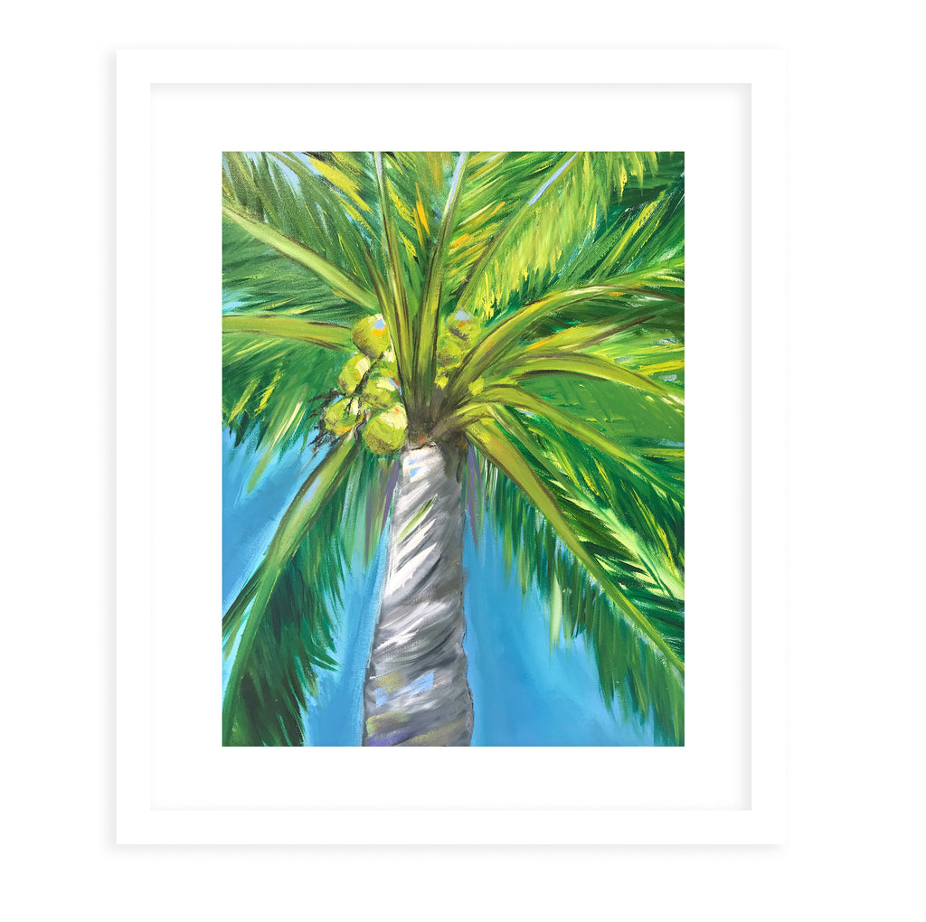 PALM ART Framed Giclee Print By Sheila Olsen
