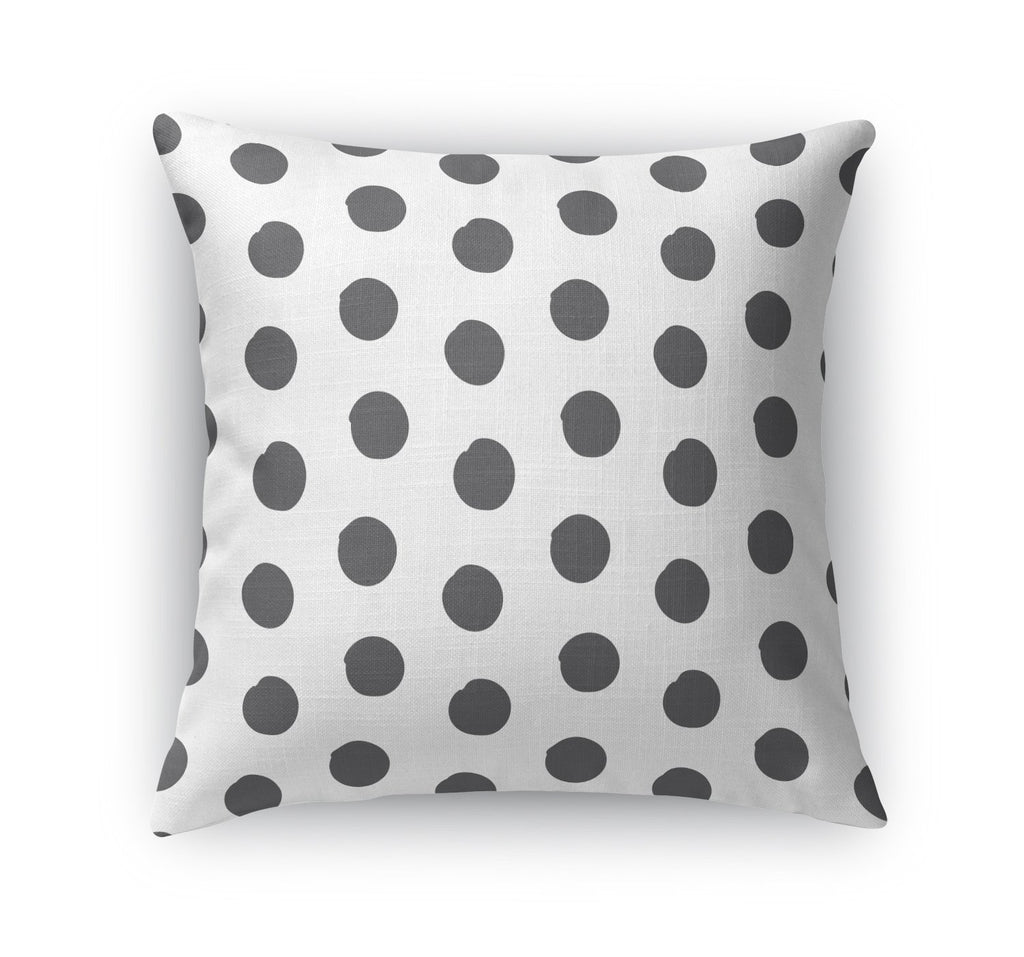 BIG POLKA DOTS Accent Pillow By Becky Bailey
