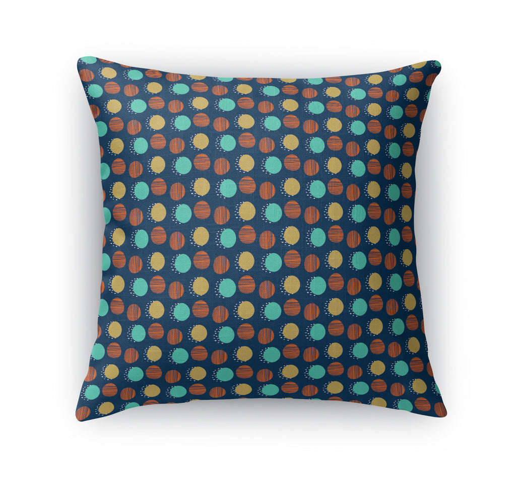MIXED CIRCLE Accent Pillow By Chi Hey Lee