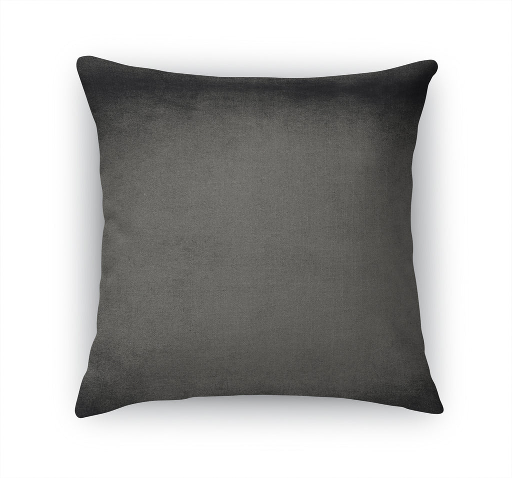 OMBRE CHARCOAL Accent Pillow By Marina Gutierrez