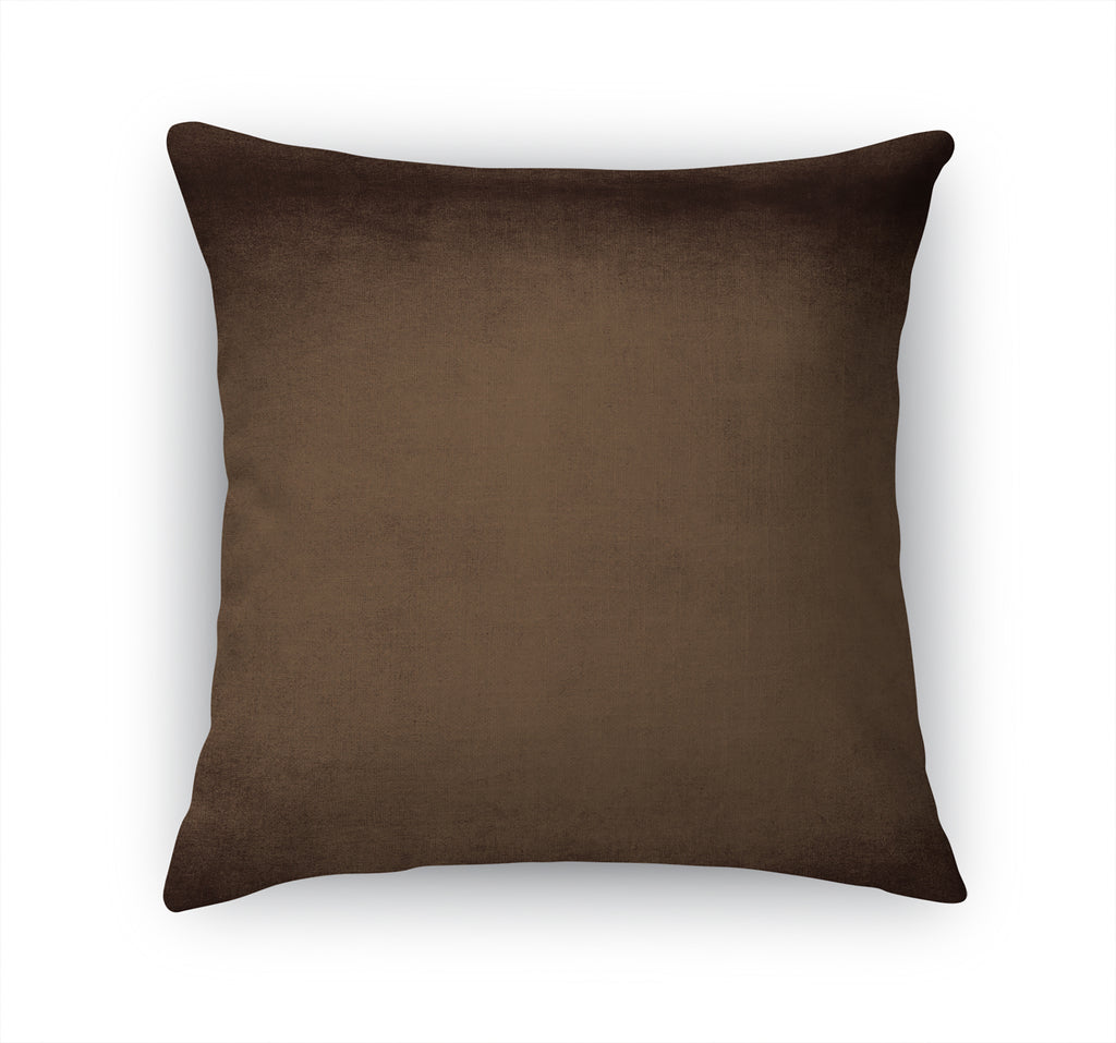 OMBRE CHOCOLATE Accent Pillow By Marina Gutierrez