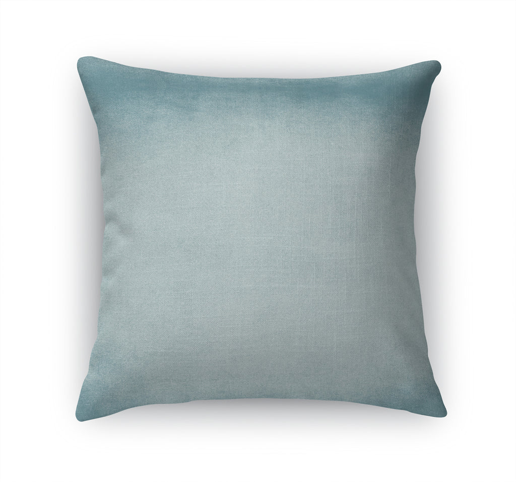 OMBRE LIGHT BLUE Accent Pillow By Marina Gutierrez