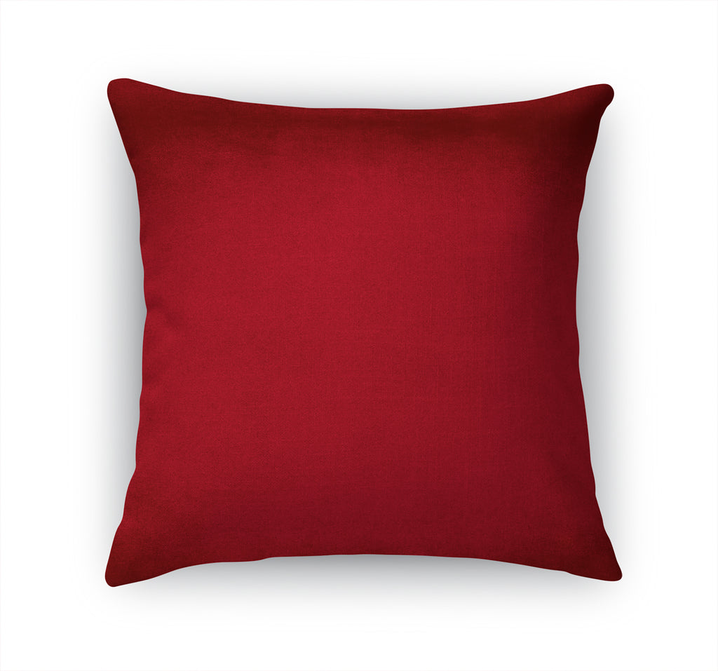 OMBRE RED Accent Pillow By Marina Gutierrez