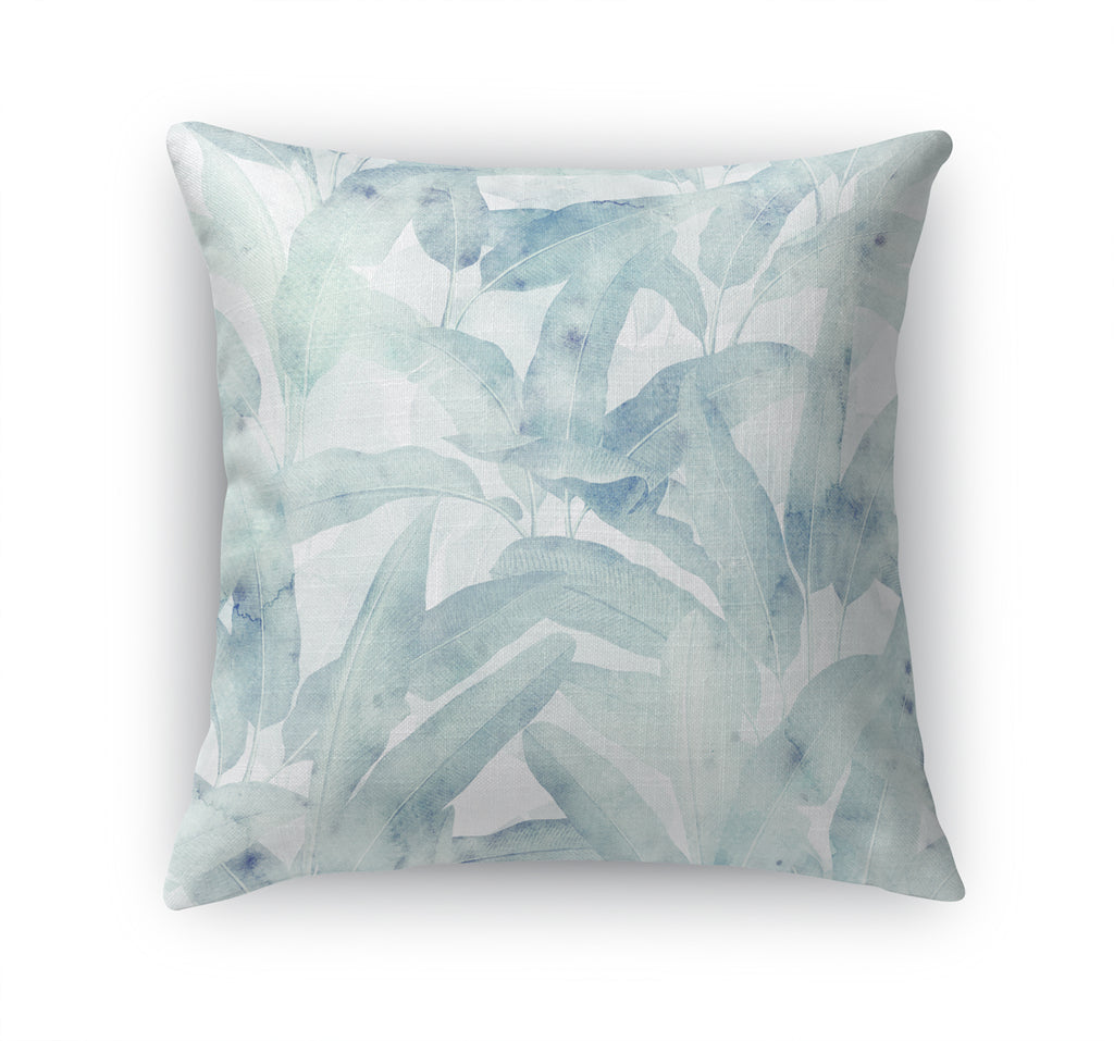 MUSA LIGHT GREEN Accent Pillow By Marina Gutierrez