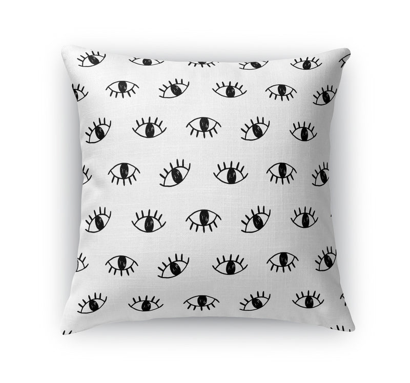 EYES TWO Accent Pillow By Terri Ellis