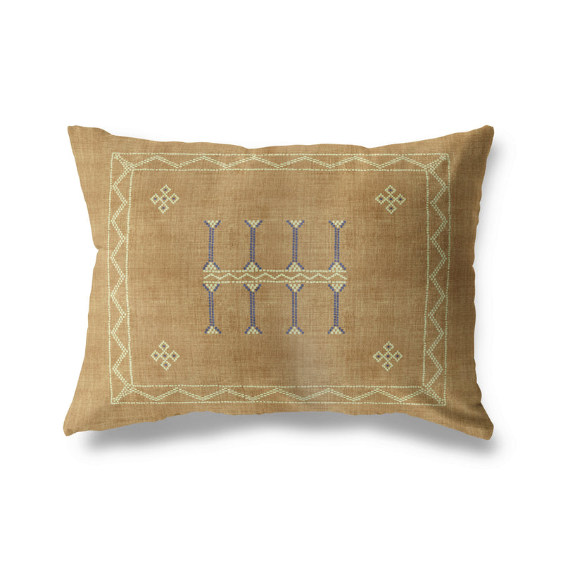 AMULET KILIM Lumbar Pillow By Becky Bailey