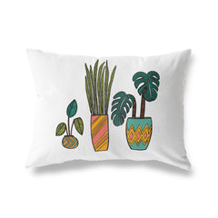 SEVENTIES SECOND COLOR WAY Lumbar Pillow By Michelle Parascandolo