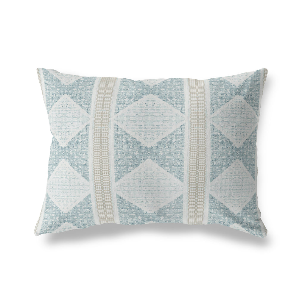 ALBUQUERQUE GREY Lumbar Pillow By Michelle Parascandolo