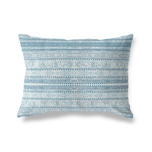KAVALA BLUE Lumbar Pillow By Michelle Parascandolo