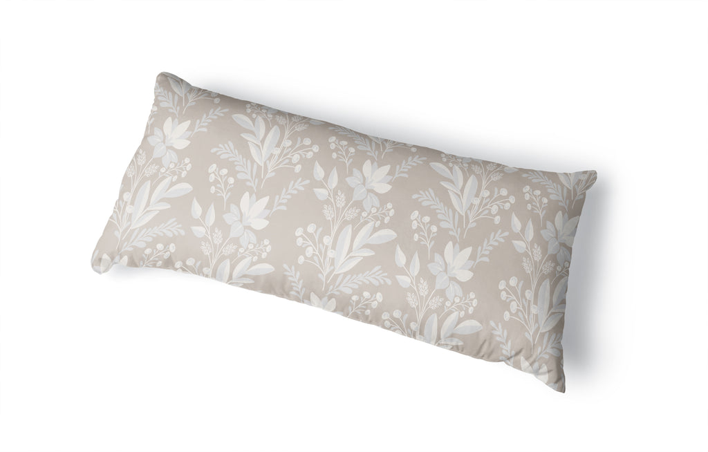 FREJA NATURAL Body Pillow By Kavka Designs