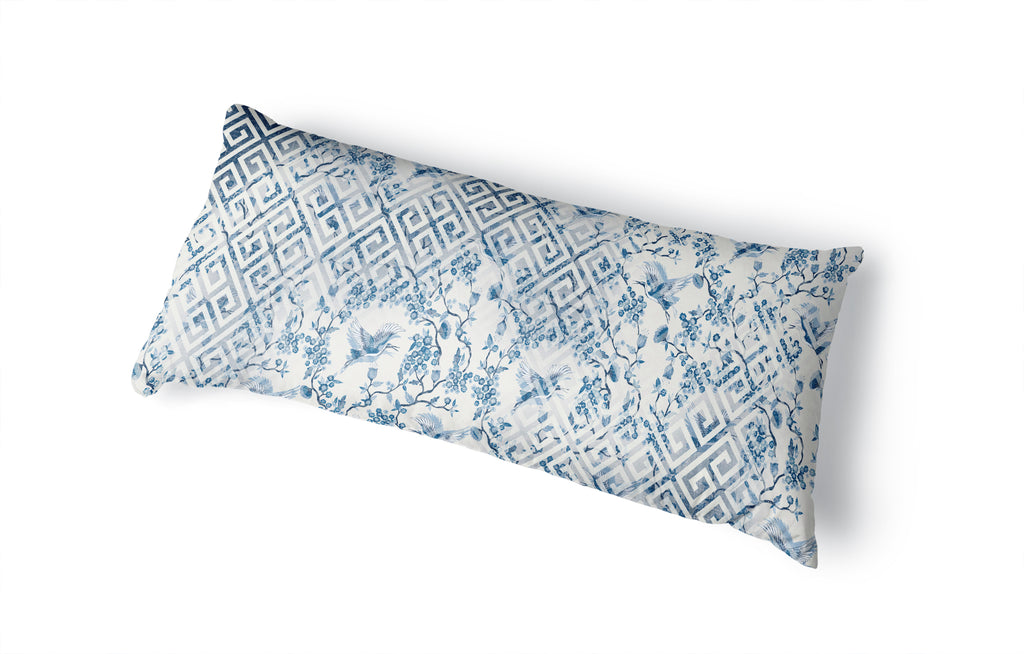 CRAIN MIX BLUE Body Pillow By Kavka Designs