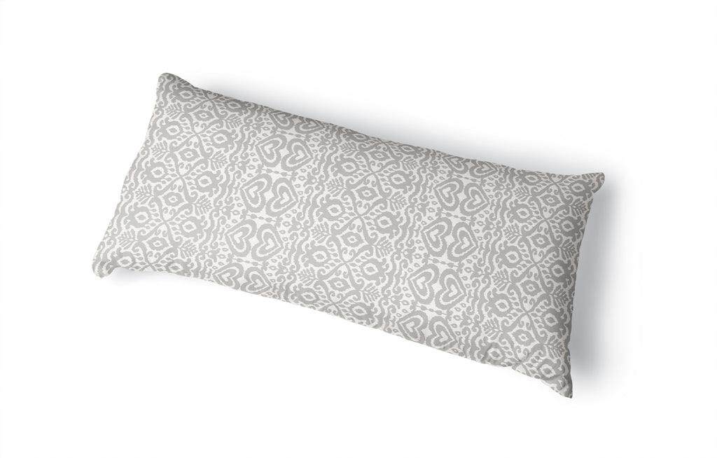 ALOMA GREY Body Pillow By Kavka Designs