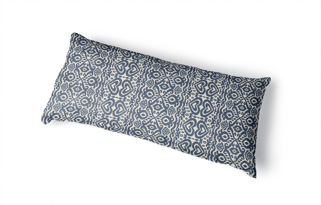 ALOMA NAVY Body Pillow By Kavka Designs