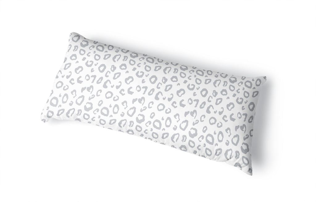 FALLON GREY Body Pillow By Terri Ellis