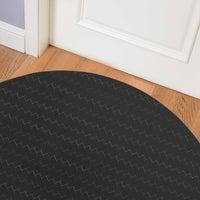 SUBWAY BLACK Indoor Floormat By Kavka Designs