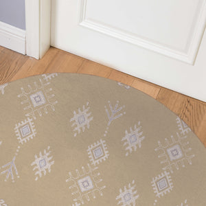 KILIM CHAMOIS Indoor Floor Mat By Kavka Designs