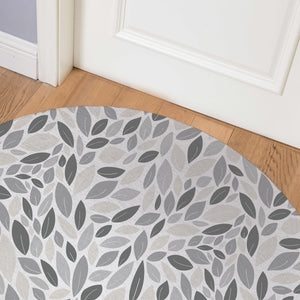AUTUMN SPRING NATURAL Indoor Floor Mat By Tiffany Wong