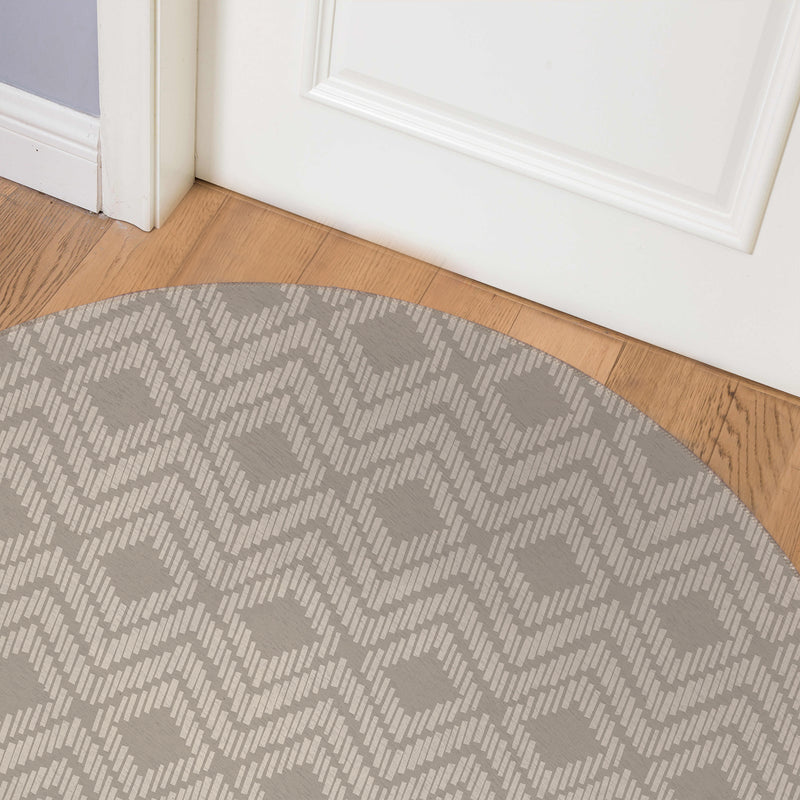 RETREAT SAND Indoor Floor Mat By Tiffany Wong