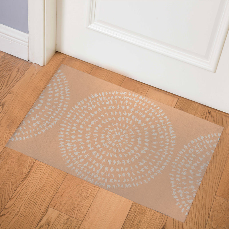 SAVANNA MELON Indoor Floor Mat By Kavka Designs