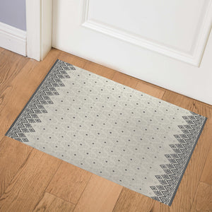 SWEATER SMOKE Indoor Floor Mat By Kavka Designs