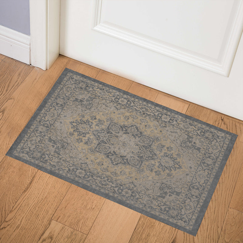 SERAPI BUTTER Indoor Floor Mat By Kavka Designs