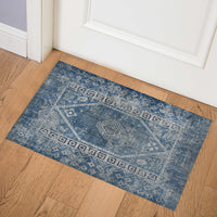 PAC BLUE Indoor Floor Mat By Terri Ellis