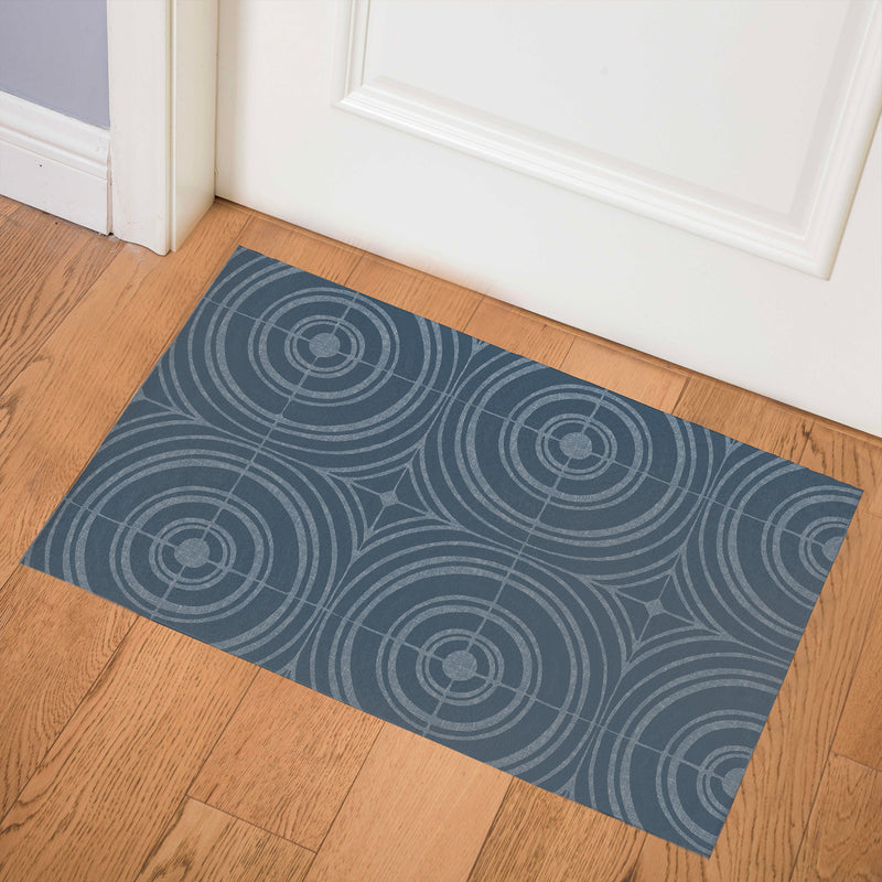 TARGET DENIM Indoor Floor Mat By Kavka Designs