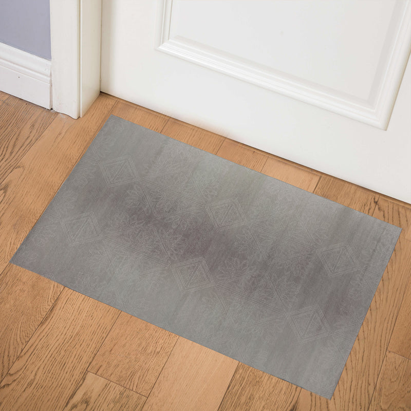GILDA PEWTER Indoor Floor Mat By Kavka Designs