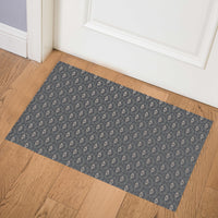 SWEETHEART CHARCOAL Indoor Floor Mat By Tiffany Wong