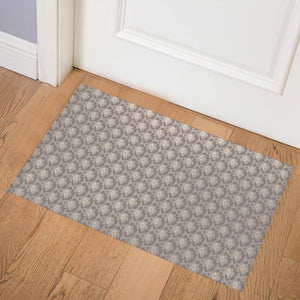 SWEETHEART NEUTRAL Indoor Floor Mat By Tiffany Wong
