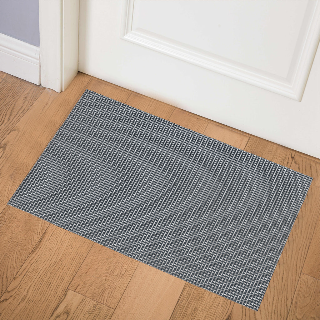 BLIMP NAVY Indoor Floor Mat By Hope Bainbridge