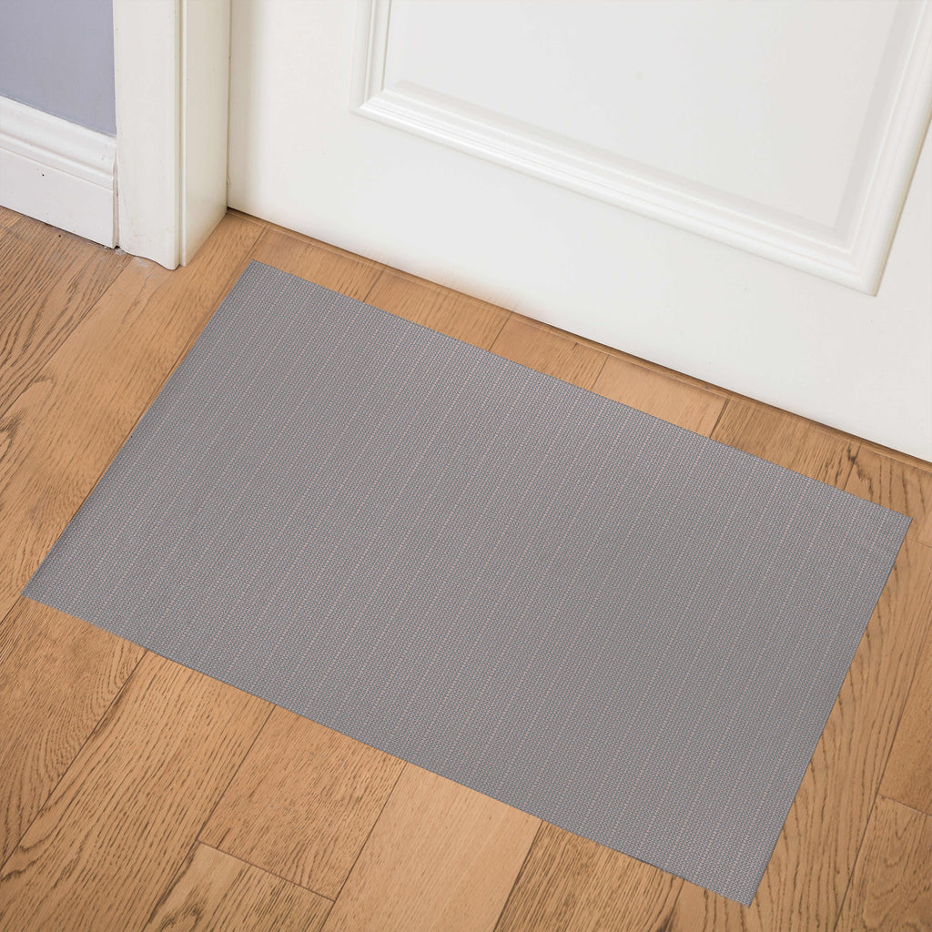 TAXSTONE PINK AND GREY Indoor Floor Mat By Hope Bainbridge