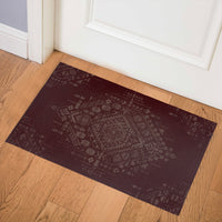 SABRA BURGUNDY Indoor Floor Mat By Kavka Designs