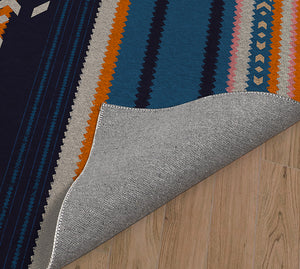 SOUTH BLUE Indoor Floor Mat By Kavka Designs