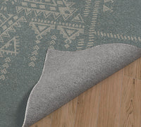 TURK TEAL Indoor Floor Mat By Kavka Designs