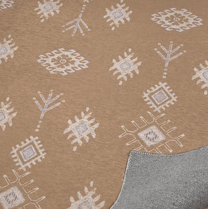 KILIM BROWN Indoor Floor Mat By Kavka Designs