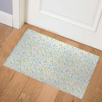 AUTUMN SPRING PINK Indoor Floor Mat By Tiffany Wong