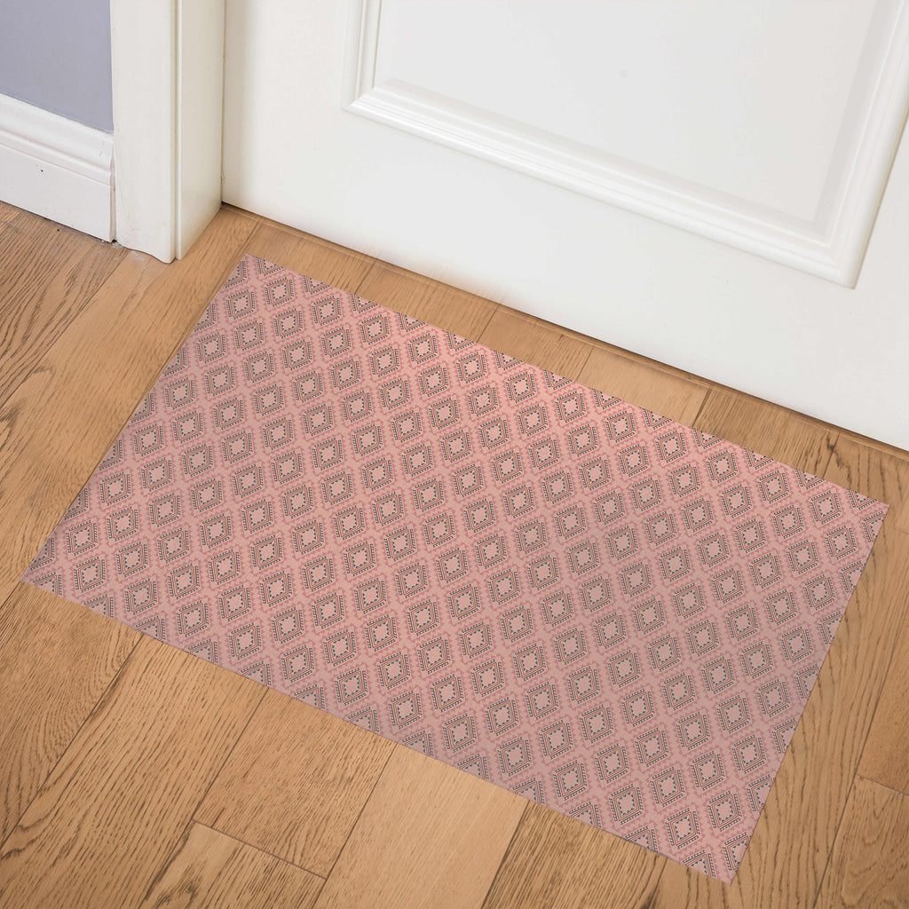 ADVENTURE CLAY Indoor Floor Mat By Tiffany Wong