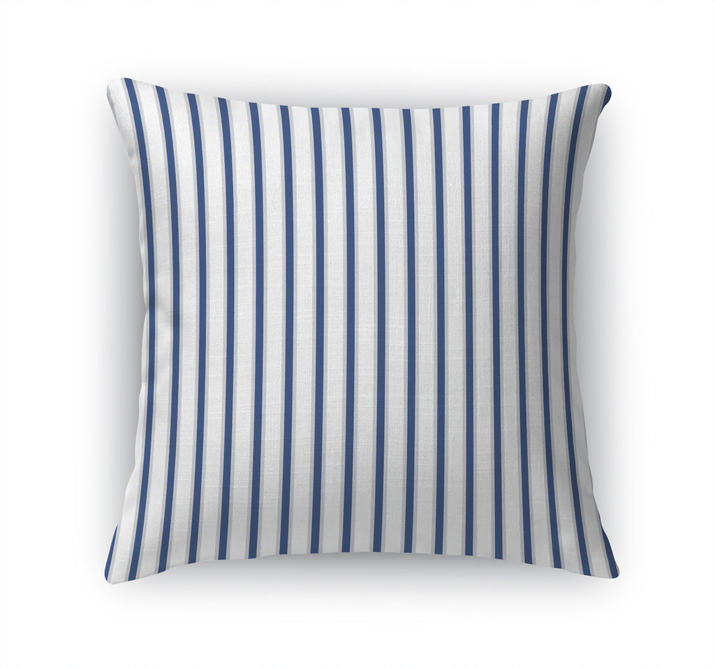 TICKING BLUE Accent Pillow By Terri Ellis