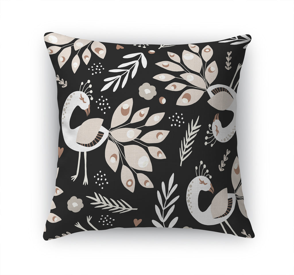LADY PEACOCK Accent Pillow By Terri Ellis