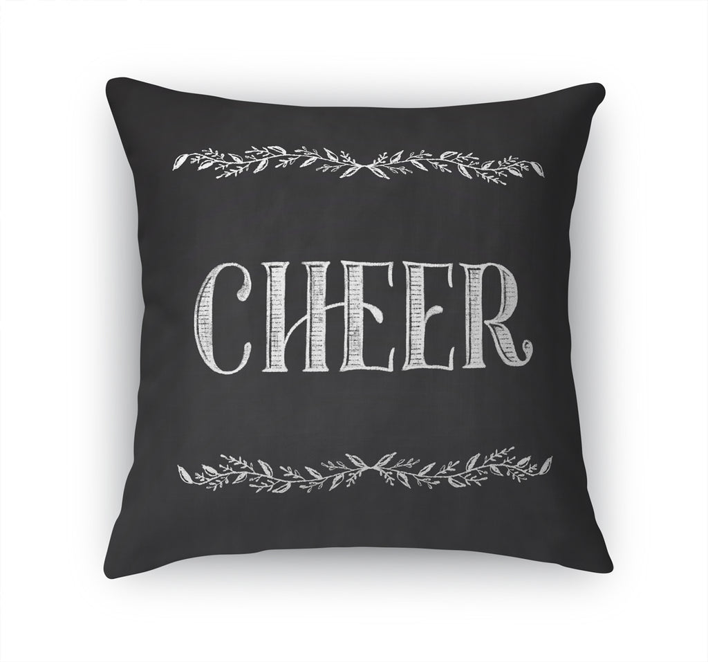 CHEER Accent Pillow By Terri Ellis