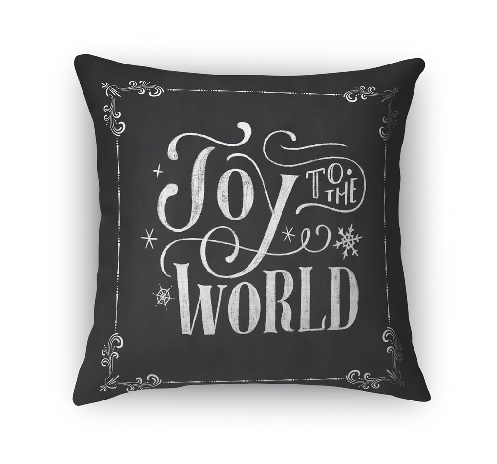 JOY TO THE WORLD Accent Pillow By Terri Ellis