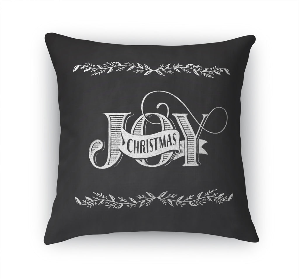 JOY CHRISTMAS Accent Pillow By Terri Ellis
